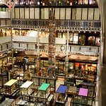 An overview of the ground floor display cabinets