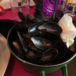 Nothing left! Tasty Moule Frites lunch special