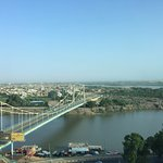 View of Nile from our room