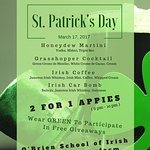 Our St. Patrick's Day Special!!!
