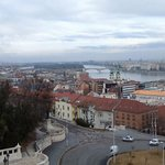 View from the Fishermans Bastion