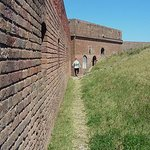 Inside Fort Clinch