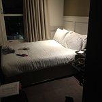 Bed = room. Tiny tiny tiny.