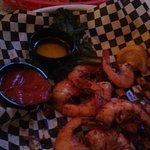Spicy shrimp at Mulligans