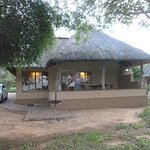 our cabin in Kruger park