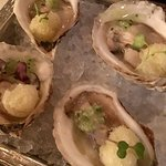 "Oysters ""sorbet"""