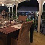 The Porch at Sol e Luna Restaurant in St Martin