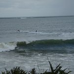 Winter surf in Hilo Bay