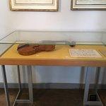 Beethoven's actual violin (oh um....Kein Fotografieren bitte)
