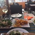 Fabulous tapas! Loads of choice & great portions. Best meal on our cruise!!!