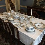 Dickens Museum Set Table
