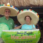 We loved the BIG margarita and music. Couldn't ask for anything better.