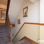 stairway on 2nd floor