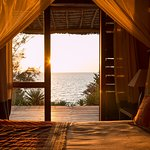 Fantastic sunset view from a Bungalow