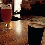 Santa Claus the dark beer is delicious