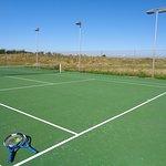 2 courts de tennis