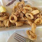Calamari appetizer
