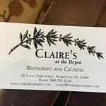 Clarie's at the Depot
