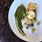 Sauteed Mushrooms /// Nettle pesto, miso, fried quail egg