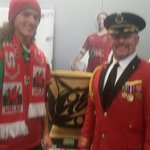 The captian ( started out a bellboy ) and his welsh son