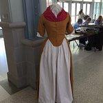 Period sewing exhibit