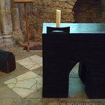 Oak altar