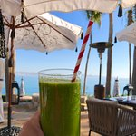 green juice at Agua