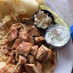 Awful Chicken Souvlaki Sandwich