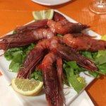 Mazara's red shrimps
