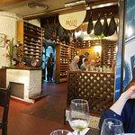 The 'Rincón de Vino' or wine cellar.