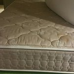 This is the mattress that hurt our backs that was supposed to be a pillow top mattress. Not!