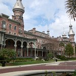 The tour includes a loop though the historic campus of the University of Tampa