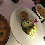 The Spring Roll and Tum Kha Soup was a perfect start to a fine, fine, dining experience.