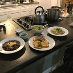 Great kitchen facilities, cookware and plates. Nearby grocery stores to cook food for the family