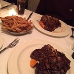 T-Bone Steak and Fries