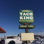 Taco King sign, Fairbanks AK