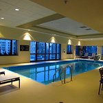 Indoor Pool on the 19th Floor