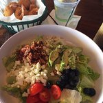 Avocado/Blueberry cobb salad from Marlin Bar & Grill