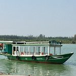 Traveled from Hoi An to Thuan Tinh island by this boat.