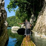Rafting on the RIo Grande in Jamaica