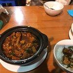Pork in pot