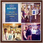 Best business of the year 2017 awarded by the best of Redditch voted by local people