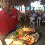 Grilled Lobster w Garlic