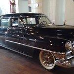 Cadillac usado pelo governador.