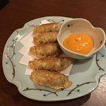 Deep fried Gyoza (this sauce was AMAZING)