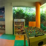 Dino kids club and Hotel grounds