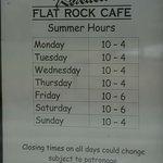 Kohatu Flat Rock Cafe
