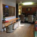 lobby very cozy