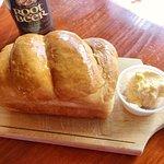 Homemade bread is good!
