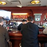 the bar at Berghoff Cafe